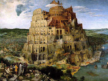 Capricorn mentality: The Tower of Babel, by Pieter Bruegel the Elder, 1563.